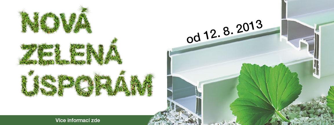 plastová okna, zelená úsporám